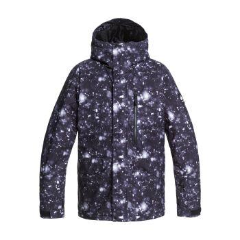 Quiksilver MISSION PRINTED JK, moška jakna, črna