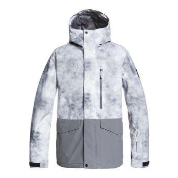 Quiksilver MISSION PRINTED BLOCK JK, moška jakna, bela