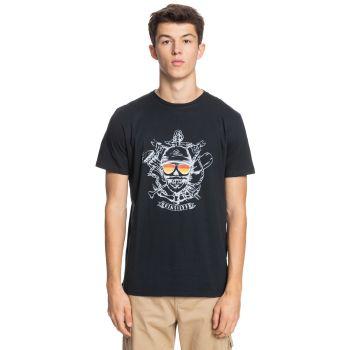 Quiksilver MADE OF BONES SS, moška majica, črna
