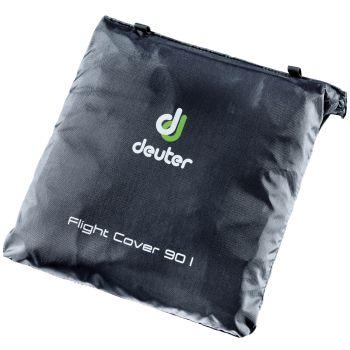 Deuter FLIGHT COVER 90, pokrivalo za nahrbtnik, črna