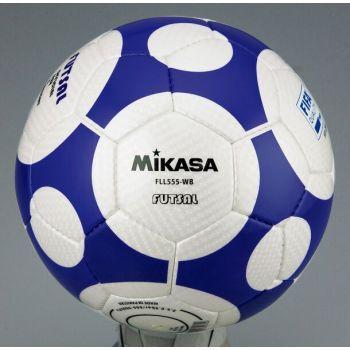 Mikasa FLL555-WG, žoga nogometna indoor, modra