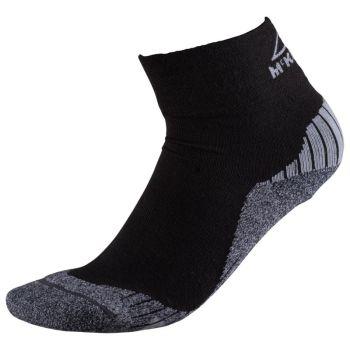 McKinley FLO QUARTER UX, moške pohodne nogavice, črna