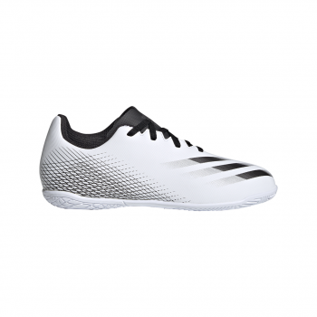 adidas X GHOSTED.4 IN J, otroški nogometni copati, bela