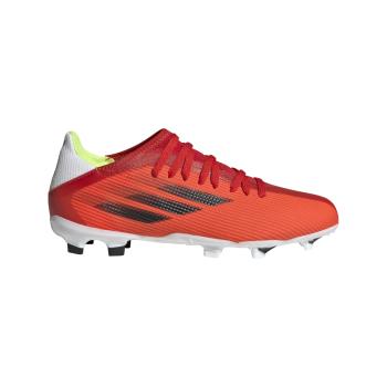 adidas X SPEEDFLOW.3 FG J, otroški nogometni čevlji, rdeča