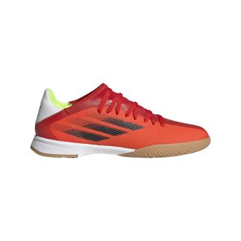 adidas X SPEEDFLOW.3 IN J, otroški nogometni copati, rdeča