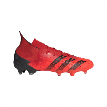 adidas PREDATOR FREAK .1 FG, moški nogometni čevlji, rdeča