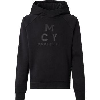 McKinley GARRY JRS, pulover o.snb, črna