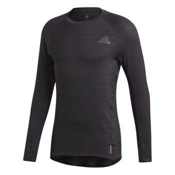 adidas ADI RUNNER LS, moška tekaška majica, črna
