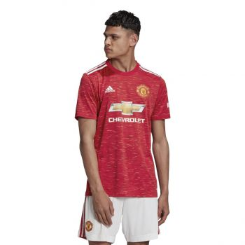 adidas MUFC H JSY, moški nogometni dres, rdeča
