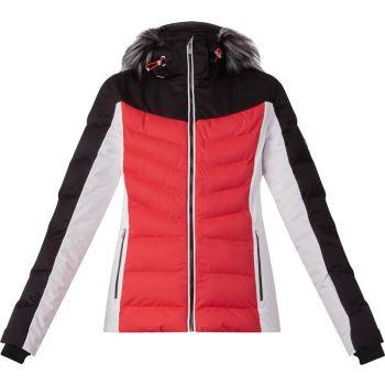 McKinley GEENA WMS, ženska smučarska jakna, rdeča