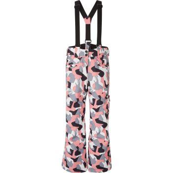 McKinley GELMA GLS, otroške smučarske hlače, roza