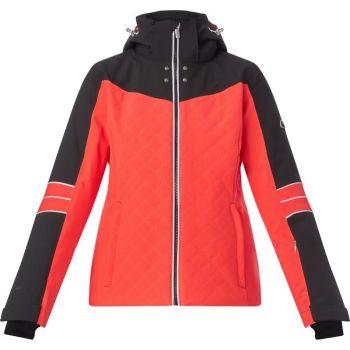 McKinley GESA WMS, ženska smučarska jakna, rdeča