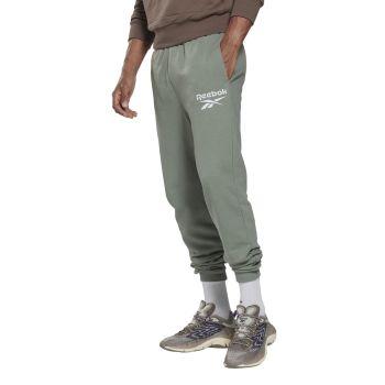 Reebok RI FT BL JOGGER, moške hlače, zelena