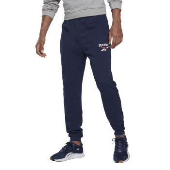 Reebok RI FT BL JOGGER, moške hlače, modra