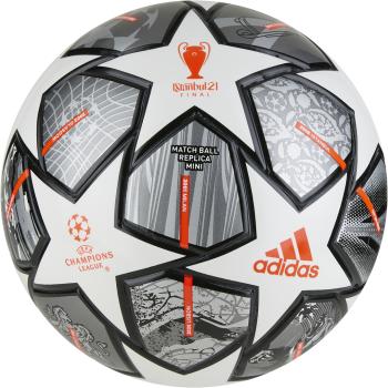 adidas FINALE MINI, nogometna žoga mini, siva