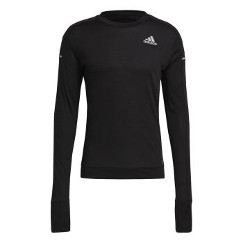 adidas COOLER LONGSLEE, moška tekaška majica, črna