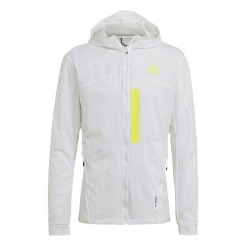 adidas MARATHON JKT M, jakna m.tek, bela