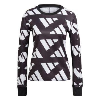 adidas CELEB SWEAT W, ženska tekaška majica, črna