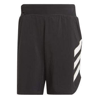 adidas AGR ALLA SHORT, moške kratke tekaške hlače, črna