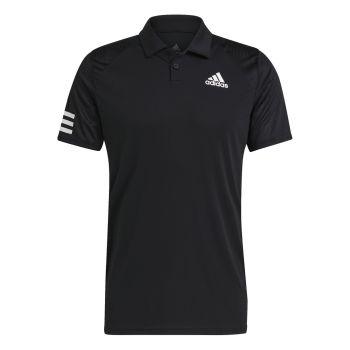 adidas CLUB 3STR POLO, maja m.kr ten polo, črna