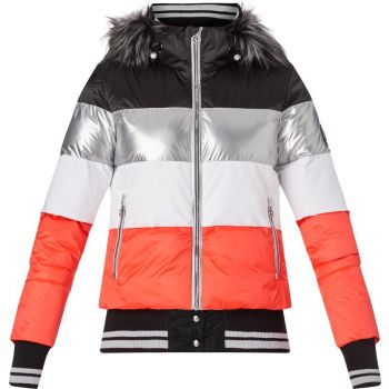 McKinley GLORIANNE WMS, ženska smučarska jakna, rdeča