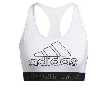 adidas DRST BOS B, ženski športni nedrček, bela