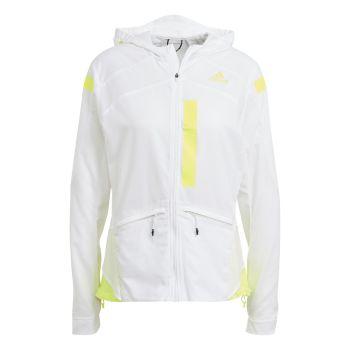adidas MARATHON JKT W, ženska tekaška jakna, bela