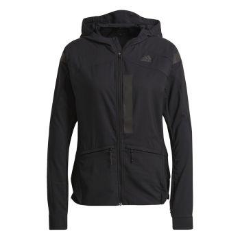 adidas MARATHON JKT W, ženska tekaška jakna, črna
