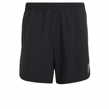 adidas P.BLUE SHORT M, moške kratke tekaške hlače, črna