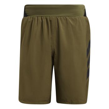 adidas AGR ALLA SHORT, moške kratke tekaške hlače, zelena