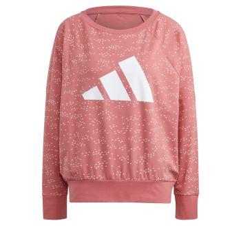 adidas W WIN CREW, maja, roza