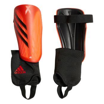 adidas X SG MTC J, ščitnik za golen, rdeča