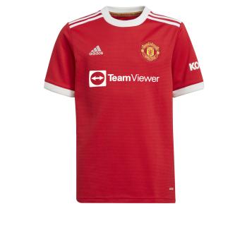 adidas MUFC H JSY Y, dres o.kr nog klub, rdeča
