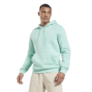 Reebok RI FLEECE OTH HOODIE, moški pulover, modra