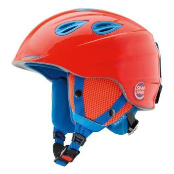Alpina GRAP 2.0 JUNIOR, otroška smučarska čelada, rdeča