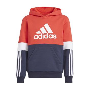 adidas B CB FL HD, pulover o., rdeča