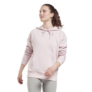 Reebok RI FLEECE HOODY, pulover ž., roza