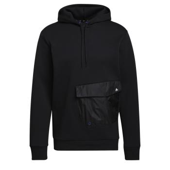 adidas M POCKET OH, moški pulover, črna
