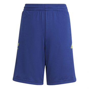 adidas B MESSI SHORT, hlače, modra