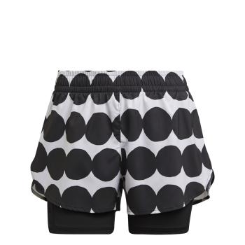 adidas MARIMEKKO 2IN1, ženske tekaške hlače, črna
