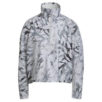 adidas FAST AOP JKT, ženska tekaška jakna, bela