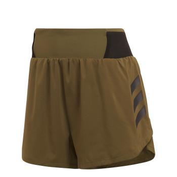 adidas W AGR ALLA SHOR, ženske tekaške hlače, zelena