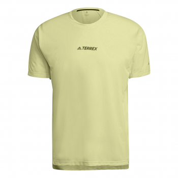 adidas AGR ALLA TEE, moška tekaška majica, rumena