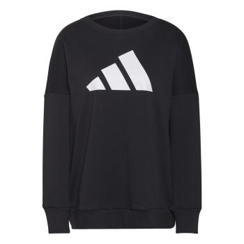 adidas W FI 3B CREW, ženski pulover, črna