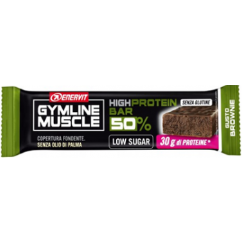 Enervit GYMLINE MUSCLE HIGH PROTEIN BAR 50%, športna prehrana
