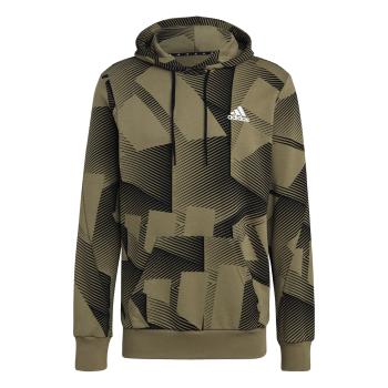 adidas M SI GFX 3B OH, moški pulover, večbarvno