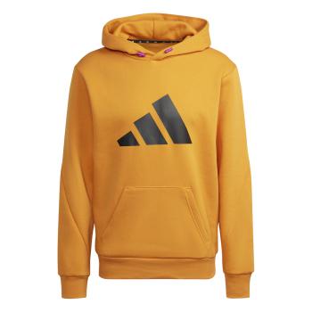 adidas M FI WTR HOODIE, moški pulover, rumena