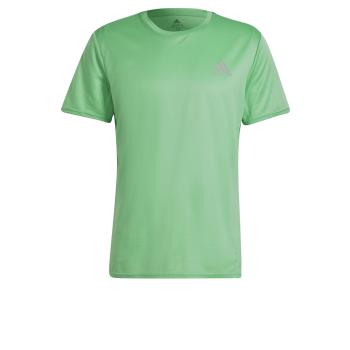 adidas P.BLUE TEE MEN, moška tekaška majica, zelena