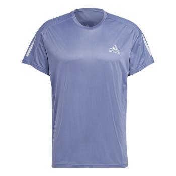 adidas OWN THE RUN TEE, moška tekaška majica, modra