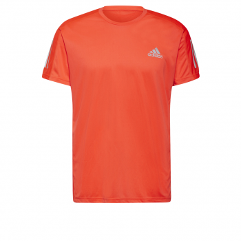 adidas OWN THE RUN TEE, moška tekaška majica, oranžna